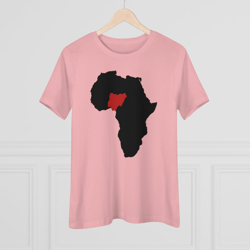Women's Map of Africa Tee