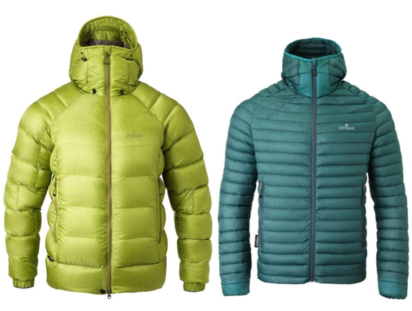 Fjorm Tor insulated lightweight down jackets