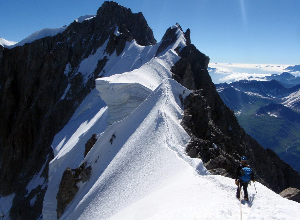 Grandes Jorasses Traverse Ridge