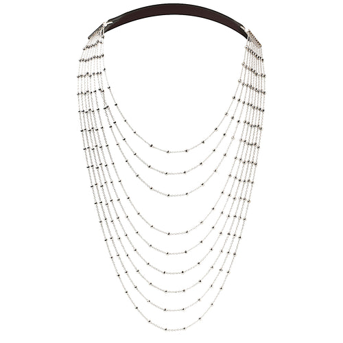 Diamond Chain Silver - Fairchild Baldwin - Handmade in Italy