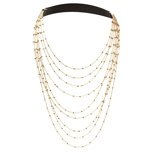 Diamond Chain Gold - Fairchild Baldwin - Handmade in Italy