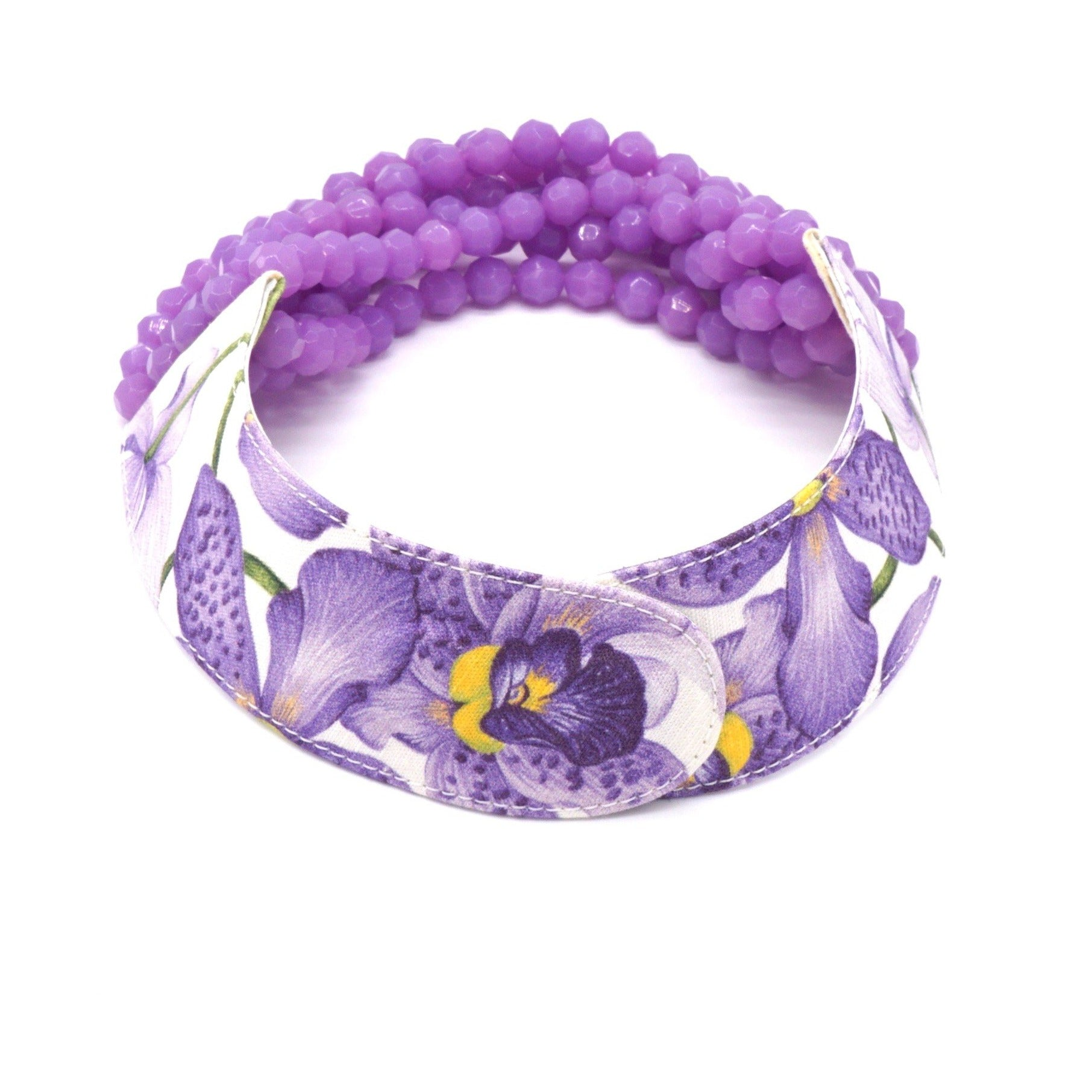 Printed Floral Bright Purple