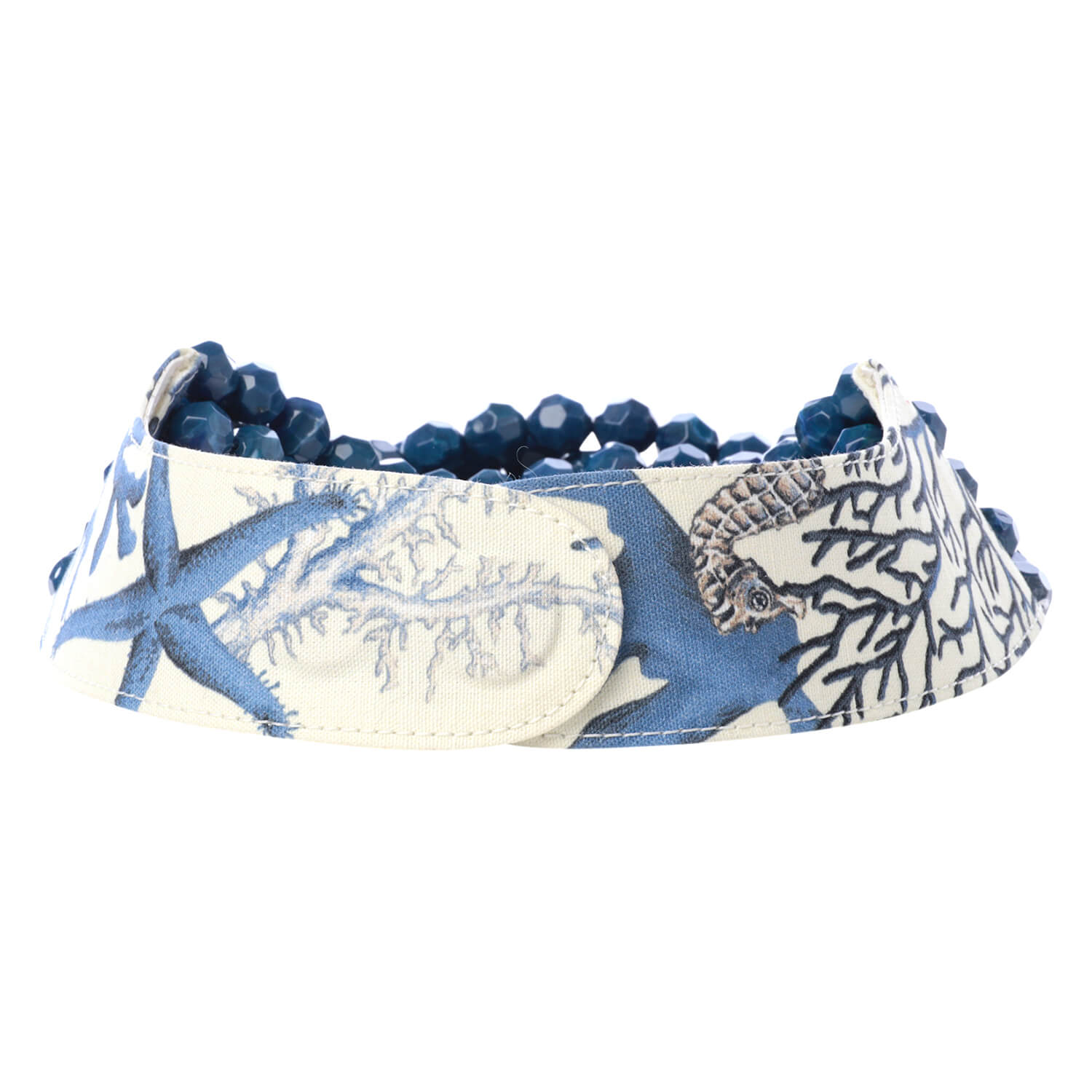 Printed Floral Blue Coral - Fairchild Baldwin - Handmade in Italy