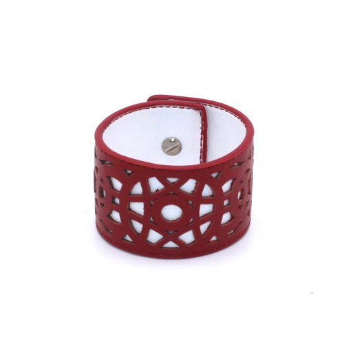 Colorblocked Laser Cut Cuff - Fairchild Baldwin - Handmade in Italy