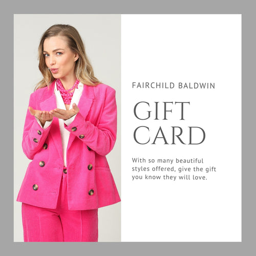 FAIRCHILD BALDWIN Gift Card - Fairchild Baldwin - Handmade in Italy