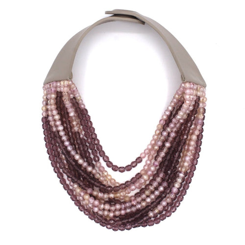 Iridescent Pink & Lilac - Fairchild Baldwin - Handmade in Italy