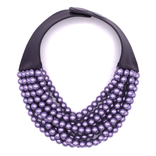 Metallic Lavender Glass Pearl -  Fairchild Baldwin