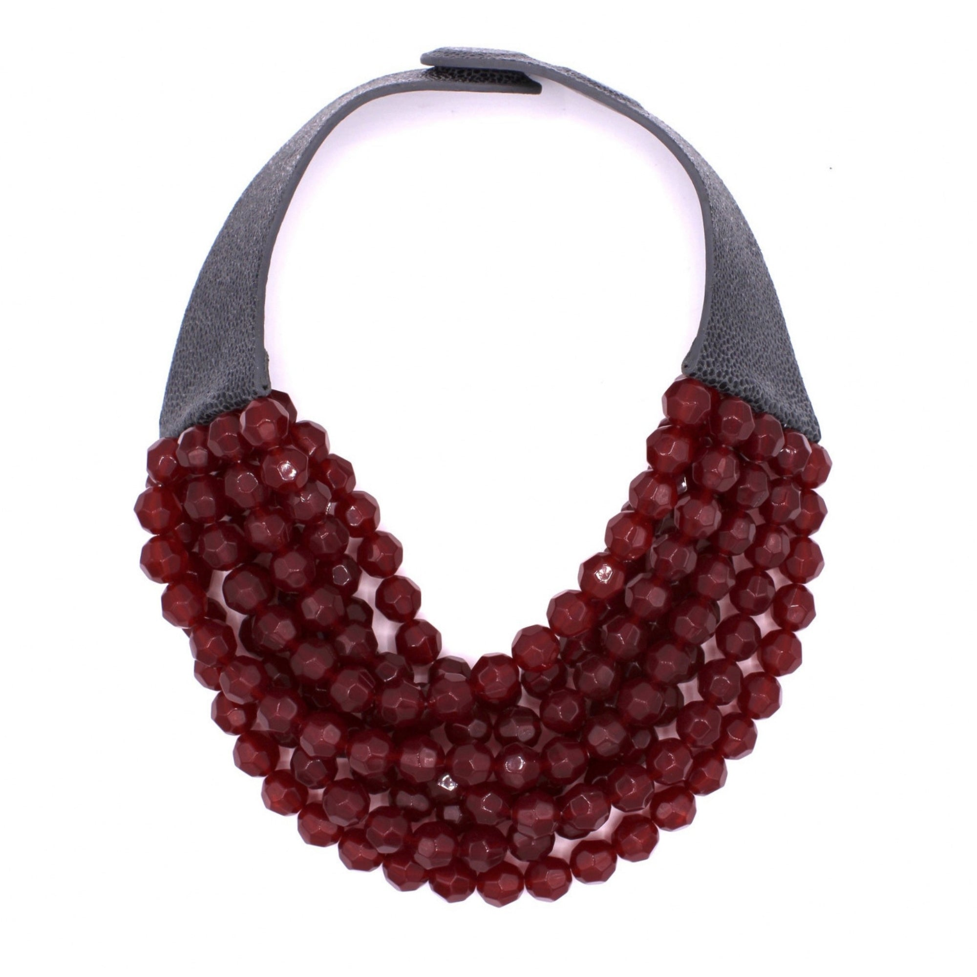 Ruby Opaline - Fairchild Baldwin - Handmade in Italy