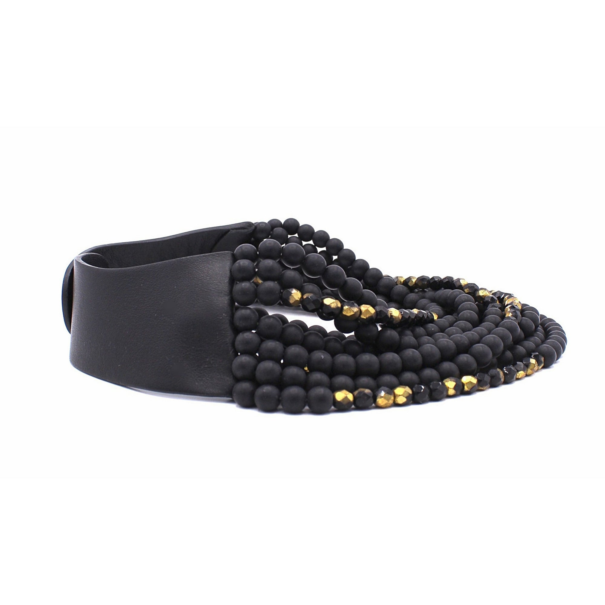 Black & Gold - Fairchild Baldwin - Handmade in Italy