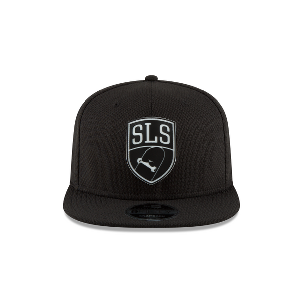 STREET LEAGUE SKATEBOARDING BLACK MESH 9FIFTY SNAPBACK