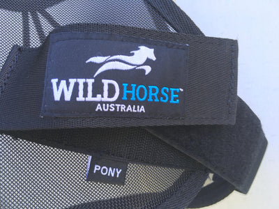Wild Horse Fly Veil with Mesh Nose