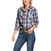 Ariat Women's REAL Gorgeous Long Sleeve Snap Shirt