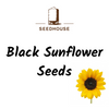 SEEDHOUSE BLACK SUNFLOWER SEEDS 20KG