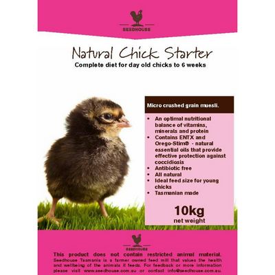 SEEDHOUSE CHICK STARTER 10KG