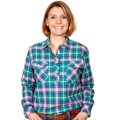Just Country Women's Jahna Flannel Workshirt