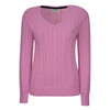 Thomas Cook Women's V-Neck Cable Jumper