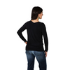 Noble Outfitters Women's Reversible Wrap Top