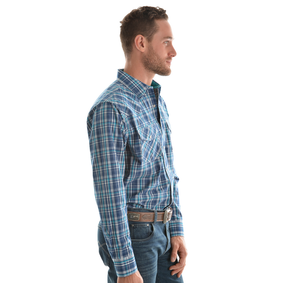 Pure Western Men's Brady Check Long Sleeve Shirt