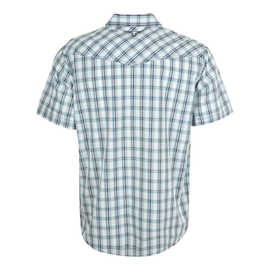 Pure Western Men's Brennan Check Short Sleeve Shirt