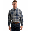 Thomas Cook Men's Carrieton Check 2 Pocket Long Sleeve Shirt
