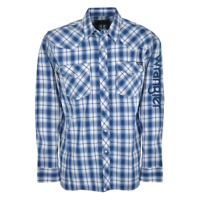 Wrangler Men's Buxton Check Long Sleeve Shirt