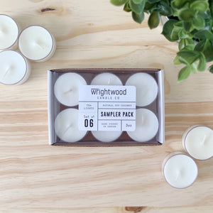 Tealight Sampler Pack • 3oz