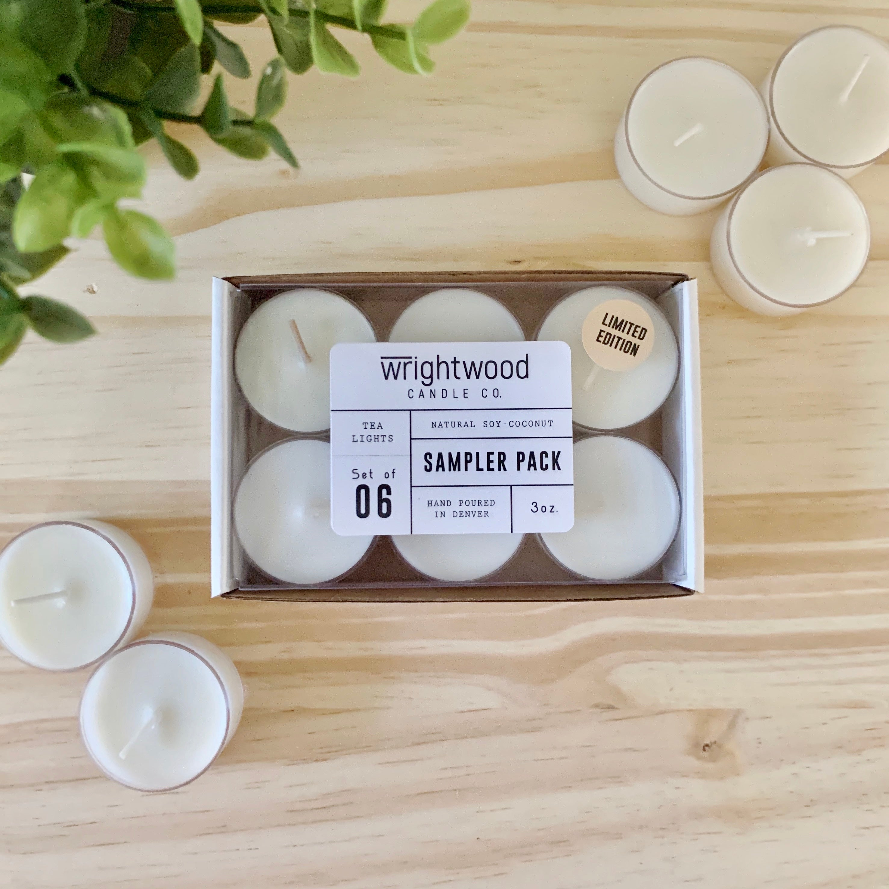 Tealight Sampler Pack - Fall Limited Edition • 3oz