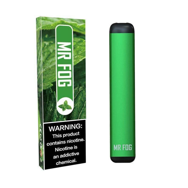 MR FOG DISPOSABLE POD DEVICE 1.5ML POD DEVICE 6% MINT