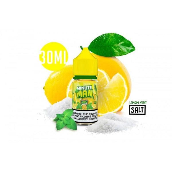 Minute Man Salt - Lemon Mint 30mL
