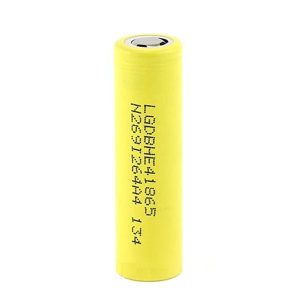 LG HE4 18650 20A Yellow Battery