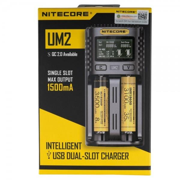 Nitecore UM2 Intelligent USB Charger