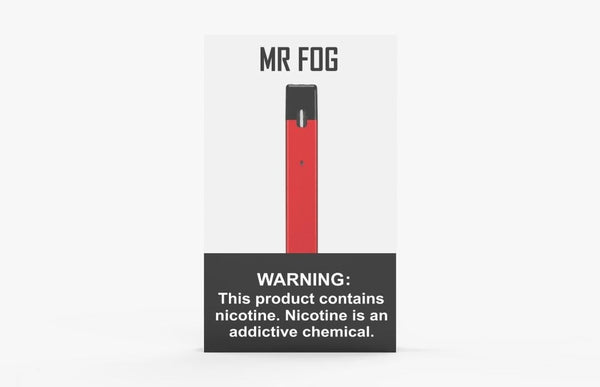 RED MR FOG DEVICE