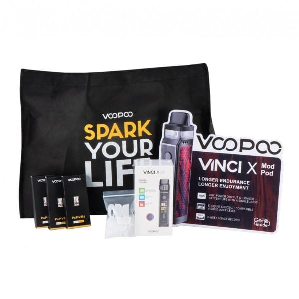 VooPoo Vinci X Holiday Bundle Promo Bag