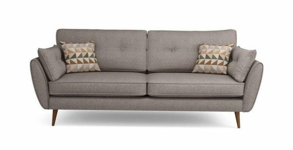 Addilyn mocha fabric sofa set - Sofa Set Online Bangalore