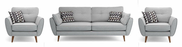 Normal Grey Sofa 2+1+1-www.yellowliving.in Manufacturers in Bangalore