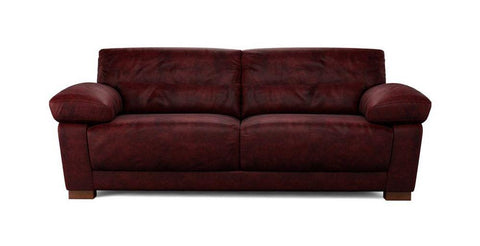 Armelle bordeaux art leather sofa set - Sofa Set Online Bangalore