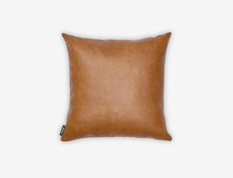leather pillow - Yellowliving.in