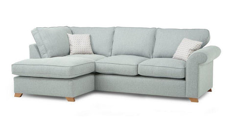 Bliss collection in blue sofa set - Sofa Set Online Bangalore