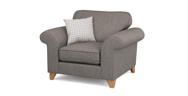 Bliss collection in taupe fabric sofa sets - Sofa Set Online Bangalore