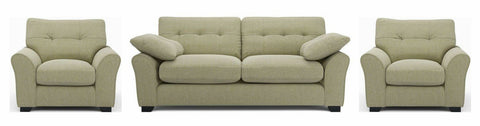Camari green soft and stylish fabric Sofa - Sofa Set Online Bangalore