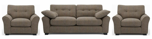 Camari mocha soft and stylish fabric sofa - Sofa Set Online Bangalore
