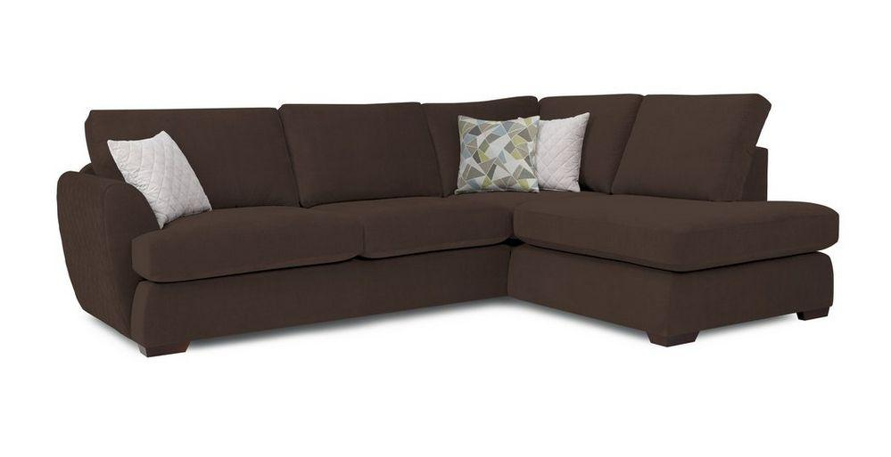 Chocolate L shaped sofa set - Sofa Set Online Bangalore