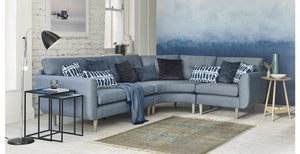 Clay L Shape Fabric Sofa - Sofa Set Online Bangalore