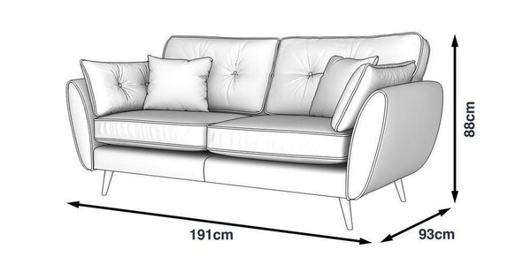 Cream color fabric sofa set - Sofa Set Online Bangalore