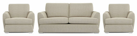Dyani best cream color fabric sofa set Fabric Sofas Sofa Set Online Bangalore