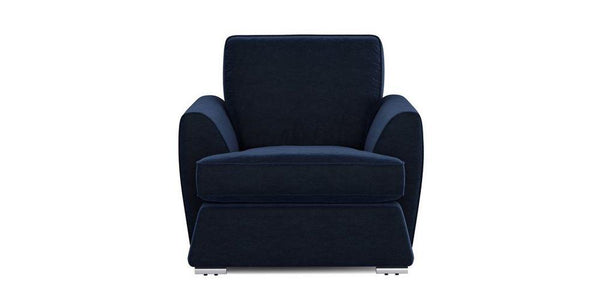 Dyani dark blue elegant fabric sofa set Fabric Sofas Sofa Set Online Bangalore 1 Seater