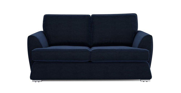 Dyani dark blue elegant fabric sofa set Fabric Sofas Sofa Set Online Bangalore 2 Seater