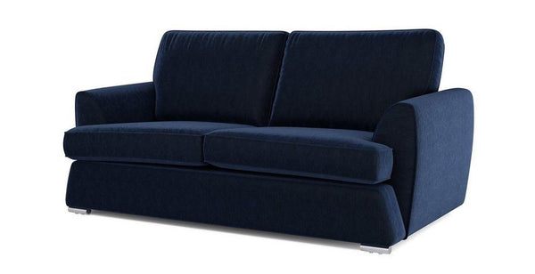 Dyani dark blue elegant fabric sofa set Fabric Sofas Sofa Set Online Bangalore