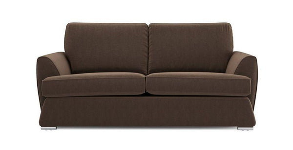 Dyani fabric sofa sets Fabric Sofas Sofa Set Online Bangalore Chocolate 3 Seater