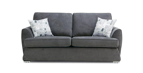Dyani fabric sofa sets Fabric Sofas Sofa Set Online Bangalore Graphite 3 Seater